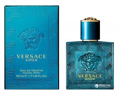Туалетная вода для мужчин Versace Eros 50 мл (8011003809202)