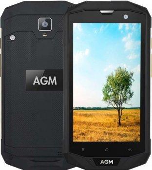 Мобильный телефон AGM A8 Black 3+32GB