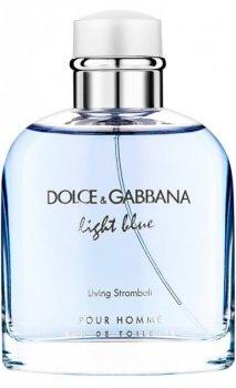 Туалетная вода для мужчин Dolce&Gabbana Light Blue Living Stromboli 75 мл (737052551517)
