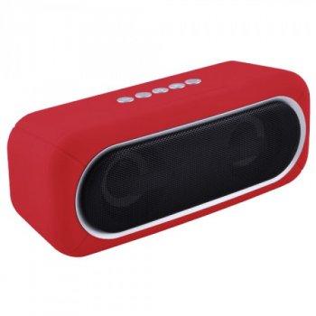 Bluetooth-колонка DMS K8 EXTRA BASS со световым шоу (красный)