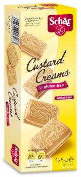 Печенье Dr. Schar Custard Creams с кремом 125 г (8008698013083)