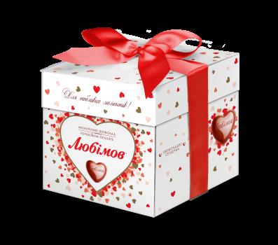 Конфеты Любимов в молочном шоколаде 208 г (4820075500399)