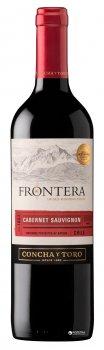 Вино Frontera Cabernet Sauvignon красное полусухое 0.75 л 13% (7804320559001)
