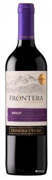 Вино Frontera Merlot красное полусухое 0.75 л 12% (7804320706009)