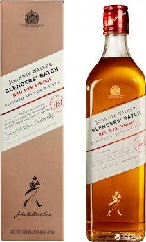 Виски Johnnie Walker Red Rye Finish 0.7 л 40% (5000267170190)