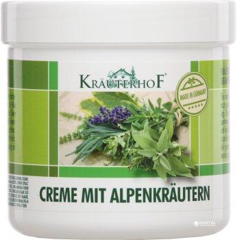 Крем для ног Krauterhof с альпийскими травами 250 мл (4075700104378)