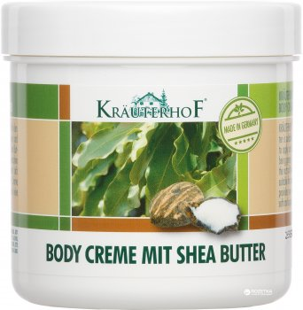 Крем для тела Krauterhof с маслом Ши 250 мл (4075700044513)