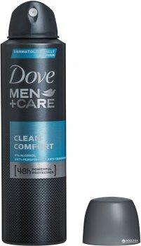 Антиперспирант-аэрозоль Dove Men+Care Экстразащита и уход 150 мл (8717644579107)