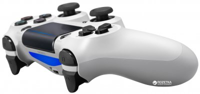 Беспроводной геймпад PlayStation Dualshock 4 v2 Glacier White для PS4