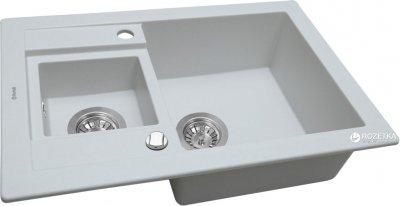 Кухонна мийка PERFELLI Granze PGG 506-67 White