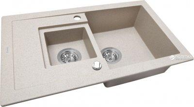 Кухонна мийка PERFELLI Pierra PGP 536-78 Sand