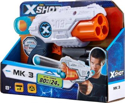 Скорострельный бластер Zuru X-Shot Excel MK3 8 патронов (36118Z) (845218013929)