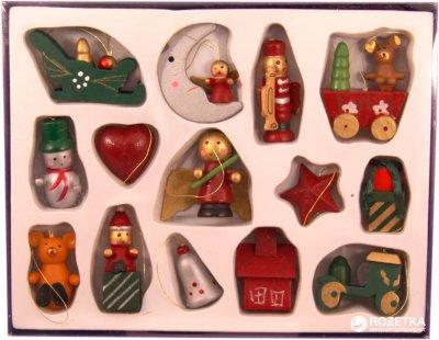 Набор елочных игрушек фигурок mag-2000 14 шт (60221)