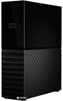 Жорсткий диск Western Digital My Book (New) 6TB WDBBGB0060HBK-EESN 3.5 USB 3.0 External