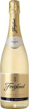 Вино игристое Freixenet Premium Cava Carta Nevada белое полусладкое 0.75 л 11.5% (8410036002008)