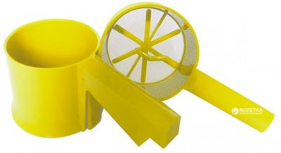 Кухоль-сито Maestro 22 х 10 х 9.3 см Жовта (MR1164-ж)