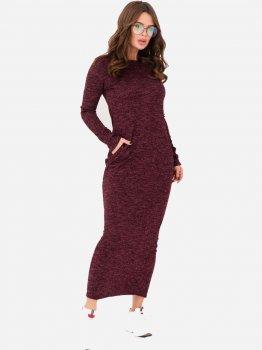 Платье ISSA PLUS 11217 Бордовое