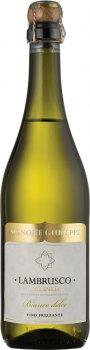 Игристое вино Signore Giuseppe Igp Lambrusco Dell'emilia Bianco белое сладкое 0.75 л 8% (3263280116954_8052783850534)