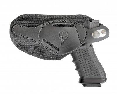 Поясная внутрибрючная кобура A-LINE для Glock черная (С1)