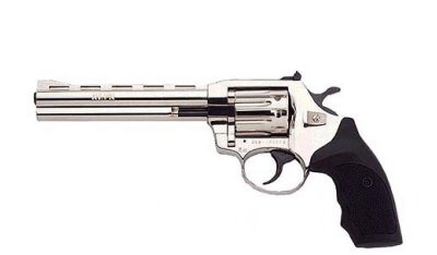 Револьвер флобера Alfa mod.461 4 мм нікель/пластик