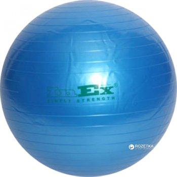 Гімнастичний м'яч Inex Swiss Ball 75 см Blue (INBU30BL7500)