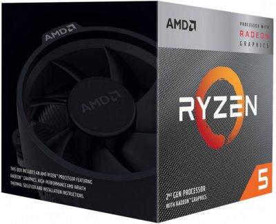 Процесор AMD Ryzen 5 3400G 3.7 GHz/4MB (YD3400C5FHBOX) sAM4 BOX