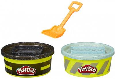 Игровой набор с пластилином Hasbro Play-Doh Wheels Цемент и Асфальт (E4508/E4525)
