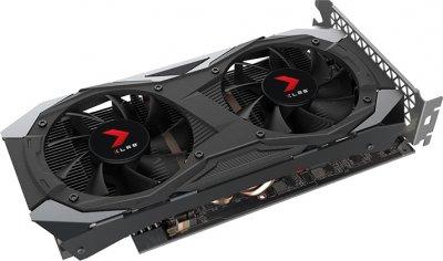 PNY PCI-Ex GeForce GTX 1660 XLR8 Gaming Overclocked Edition 6GB GDDR5 (192bit) (1530/8000) (DisplayPort, HDMI, DVI-D) (VCG16606DFMPB-O)