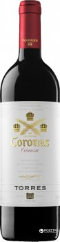 Вино Torres Coronas красное сухое 0.75 л 13.5% (8410113003089)