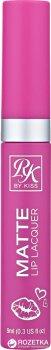 Матовий лак для губ Kiss Creme Matte Lip Lacquer 9 мл RML08 - Think Pink (649674041386)