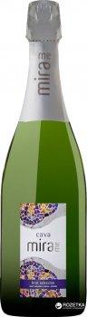 Вино ігристе Mirame Cava біле брют 0.75 л 11.5% (8426998265757)