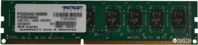 Оперативна пам'ять Patriot DDR3-1600 4096MB PC3-12800 Signature Line (PSD34G16002)