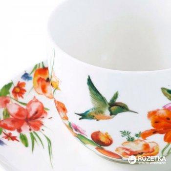Чашка кофейная с блюдцем Krauff Colibri 100 мл (21-244-037)