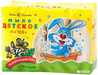 Дитяче мило Невська Косметика з чистотілом 400 г (4600697101590)