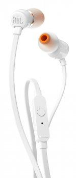 Навушники JBL T110 White (JBLT110WHT) Официальная гарантия производителя!