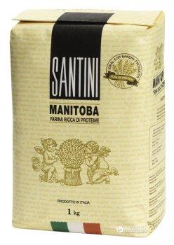 Мука из мягких сортов пшеницы Santini Manitoba 1 кг (8025566007203)