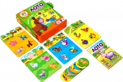 Гра Vladi Toys Лото Ферма (укр) (VT2100-03)