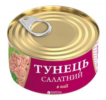Тунец Салатный в растительном масле Fish Line 185 г (4820104250660)