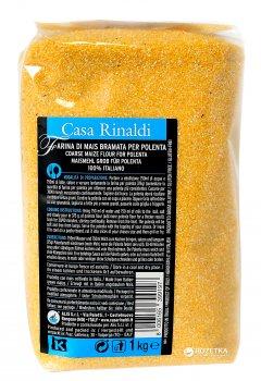 Мука кукурузная Casa Rinaldi Farina Gialla Bramata грубого помола 1 кг (8006165399197)
