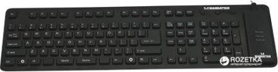Клавіатура дротова Manhattan Roll-Up USB (177436)