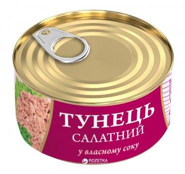Тунец Салатный в собственном соку Fish Line 185 г (4820104250677)