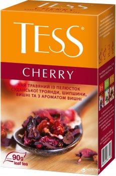 Чай травяной рассыпной TESS Cherry 90 г (4823096800295)