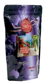 Кофе в зёрнах Trevi Арабика Колумбия Супремо 250 г (4820140050767)