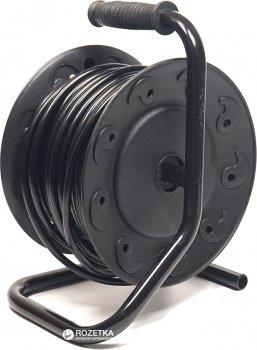 Подовжувач на котушці PowerPlant 25 м 4 розетки (PPRA10M250S4)