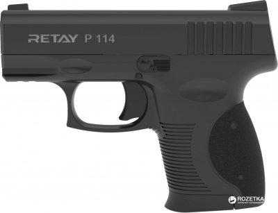 Стартовий пістолет Retay P 114 9 мм Black (11950325)