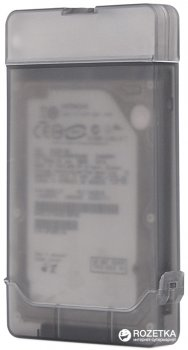 "Адаптер Maiwo для подключения HDD/SSD 2.5"" SATA к USB 3.1 Type-C + контейнер защитный для HDD 2.5"" (K104G1 black)"