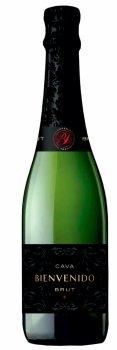 Вино игристое Cava Bienvenido Brut белое сухое 0.75 л 11.5% (8426998257561)