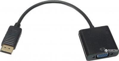 Перехідник Value DisplayPort - VGA M/F 0.2 м (S0133)