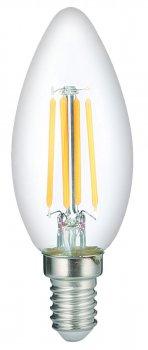 Лампа LED филаментная Vestum С35 Е14 5Вт 220V 4100К (1-VS-2309)