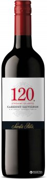 Вино Santa Rita 120 Cabernet Sauvignon красное сухое 0.75 л 13.5% (7804330311101)